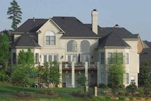 House Plan Design - Traditional Exterior - Rear Elevation Plan #453-409