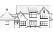 Colonial Style House Plan - 4 Beds 3.5 Baths 4320 Sq/Ft Plan #413-826