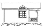 Log Style House Plan - 1 Beds 1 Baths 216 Sq/Ft Plan #942-45 Exterior - Other Elevation