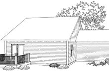 Ranch Photo Plan #70-1018