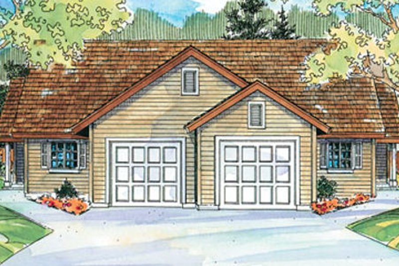 Traditional Exterior - Front Elevation Plan #124-679