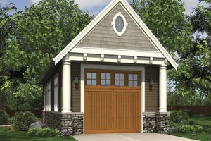 Dream House Plan - Exterior - Front Elevation Plan #48-885