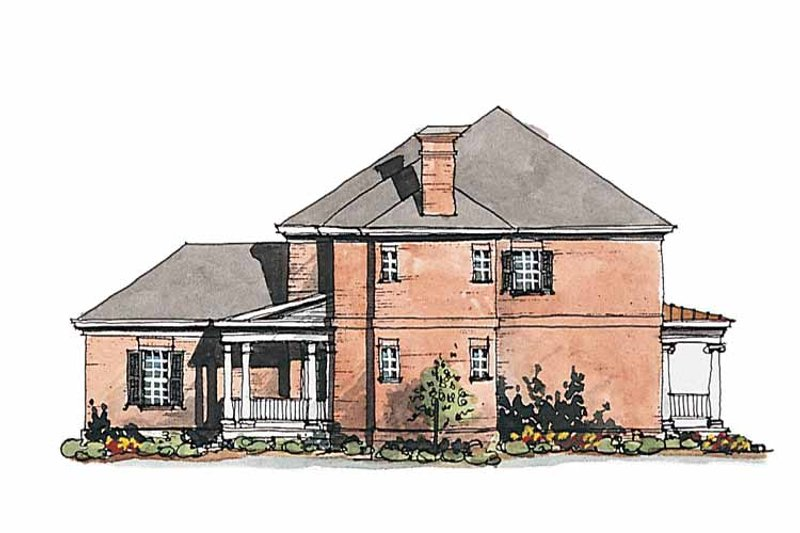 Classical Exterior - Other Elevation Plan #429-185 - Houseplans.com