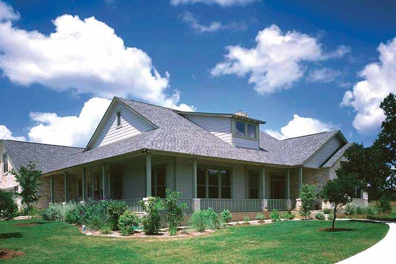 Prairie Exterior - Front Elevation Plan #472-185