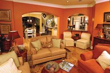 Dream House Plan - Country Interior - Family Room Plan #952-276