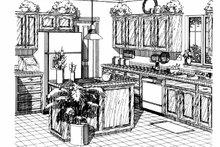 Architectural House Design - Country Interior - Kitchen Plan #310-1112
