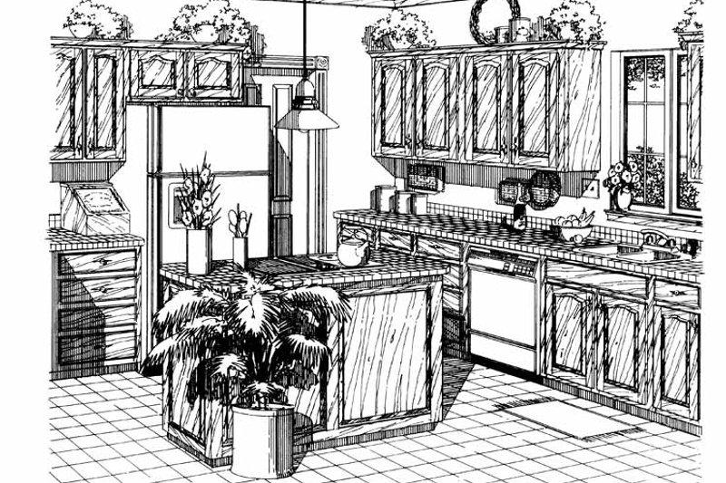 Country Interior - Kitchen Plan #310-1112 - Houseplans.com