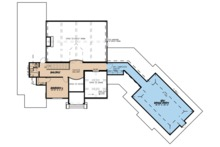 European Floor Plan - Upper Floor Plan Plan #923-66