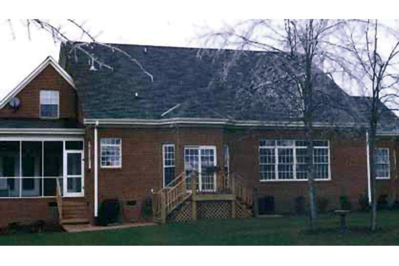 Traditional Exterior - Rear Elevation Plan #314-275 - Houseplans.com