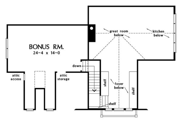 Dream House Plan - Ranch Floor Plan - Other Floor Plan #929-994