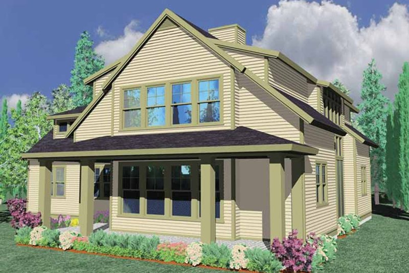 Traditional Exterior - Front Elevation Plan #509-269