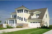 Country Style House Plan - 4 Beds 3.5 Baths 3083 Sq/Ft Plan #928-98 Exterior - Front Elevation