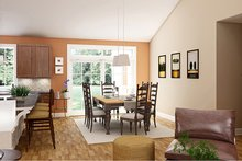 Architectural House Design - Ranch Interior - Dining Room Plan #18-9545