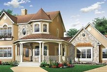 Home Plan - Victorian Exterior - Other Elevation Plan #23-2016
