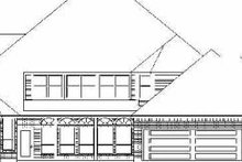 Dream House Plan - Traditional Exterior - Rear Elevation Plan #84-154