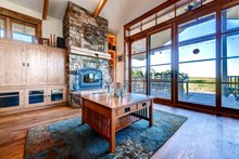 Dream House Plan - Prairie Interior - Family Room Plan #1042-18