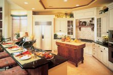 Mediterranean Interior - Kitchen Plan #930-189