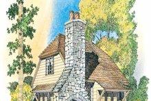 Dream House Plan - European Exterior - Front Elevation Plan #1016-65