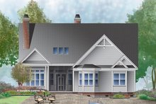 House Plan Design - Ranch Exterior - Rear Elevation Plan #929-994