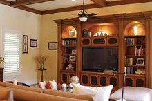 Mediterranean Interior - Family Room Plan #1058-11