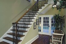 Architectural House Design - Colonial Interior - Entry Plan #930-220