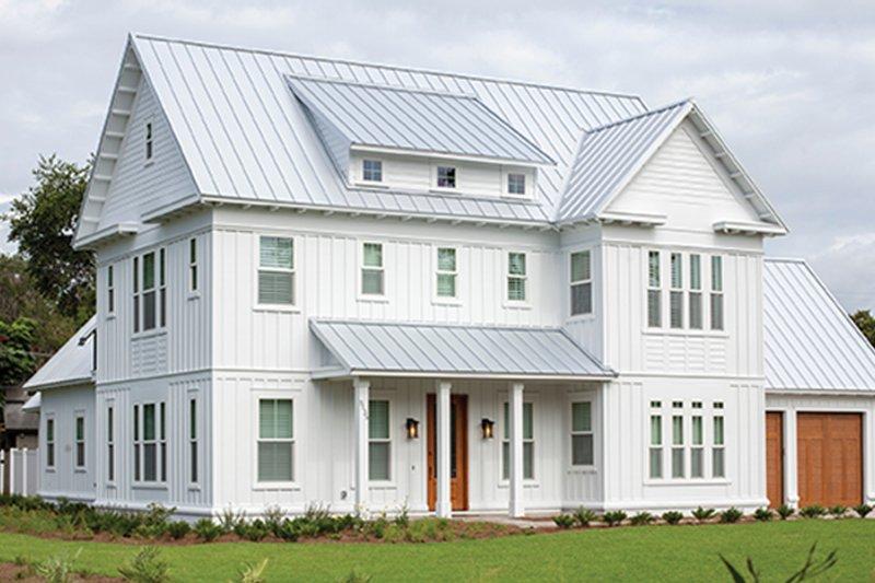 Home Plan - Farmhouse Exterior - Front Elevation Plan #1058-73