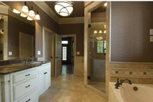 House Plan Design - Country Interior - Master Bathroom Plan #54-367