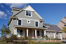 Dream House Plan - Traditional Exterior - Front Elevation Plan #51-1120