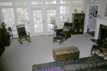 Classical Interior - Family Room Plan #137-298