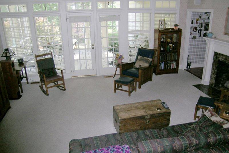 Classical Interior - Family Room Plan #137-298 - Houseplans.com