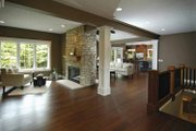Bungalow Style House Plan - 2 Beds 2.5 Baths 2243 Sq/Ft Plan #928-169 Interior - Family Room