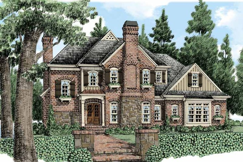 Country Exterior - Front Elevation Plan #927-479 - Houseplans.com
