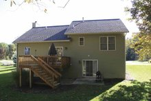 Architectural House Design - Craftsman Exterior - Rear Elevation Plan #928-118