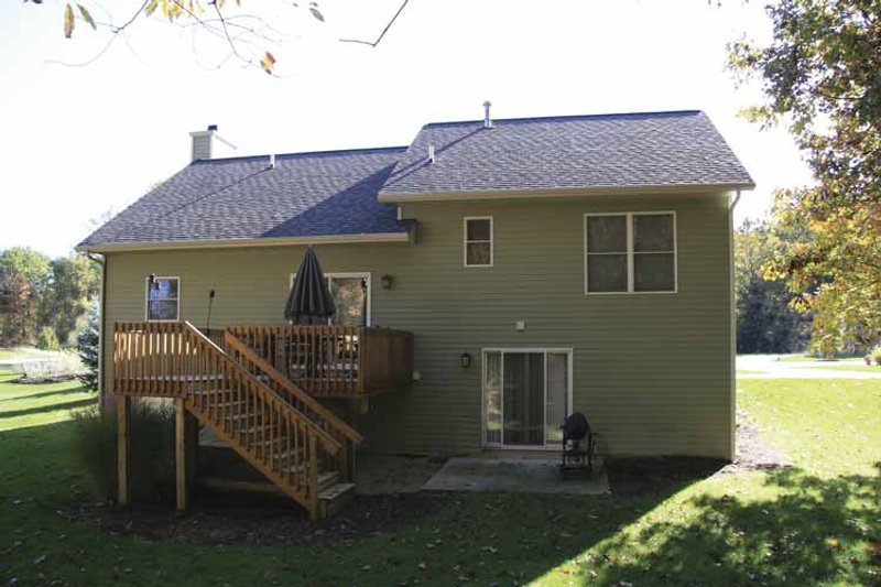 Craftsman Exterior - Rear Elevation Plan #928-118 - Houseplans.com