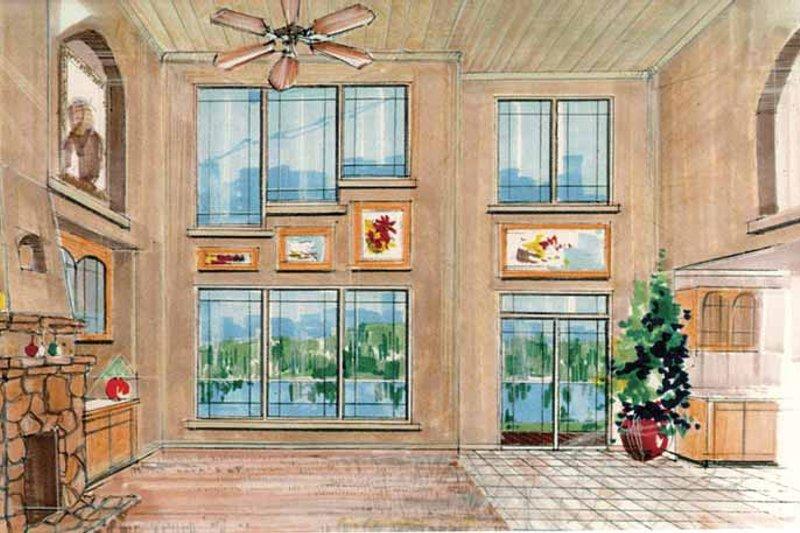 Prairie Interior - Family Room Plan #509-416 - Houseplans.com