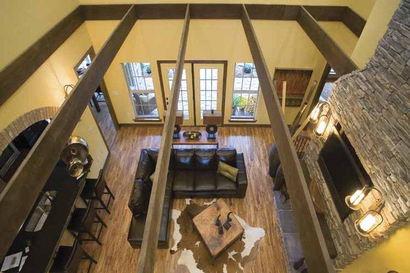 Traditional Interior - Family Room Plan #17-2779 - Houseplans.com