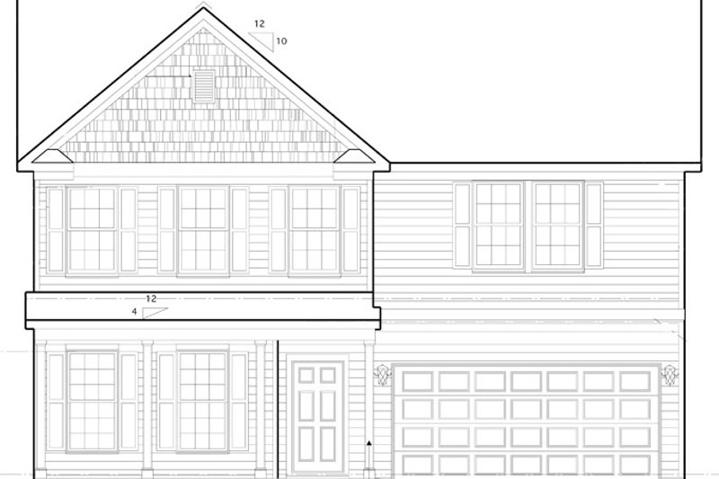 Traditional Exterior - Front Elevation Plan #1053-50 - Houseplans.com