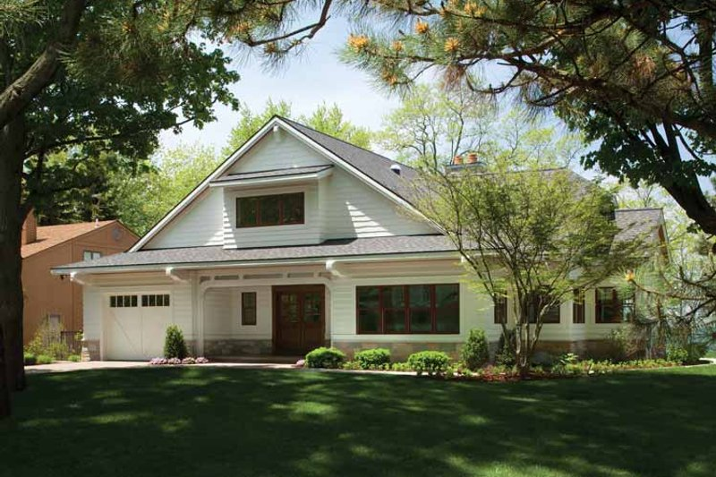 Architectural House Design - Country Exterior - Front Elevation Plan #928-233