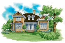 Country Exterior - Front Elevation Plan #930-207