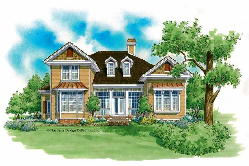 Home Plan - Country Exterior - Front Elevation Plan #930-207