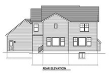 Home Plan - Traditional Exterior - Rear Elevation Plan #1010-247