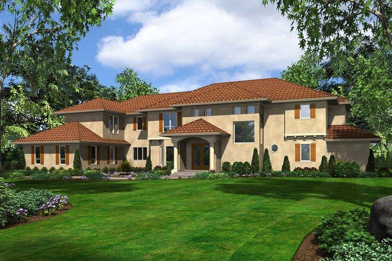 House Plan Design - European Exterior - Front Elevation Plan #48-962