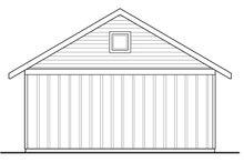 Traditional Exterior - Rear Elevation Plan #124-1039