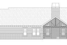 House Plan Design - Craftsman Exterior - Rear Elevation Plan #932-282