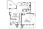 Cottage Style House Plan - 4 Beds 3 Baths 2834 Sq/Ft Plan #509-10 Floor Plan - Main Floor Plan