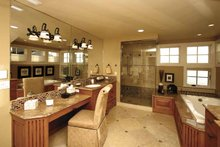 Craftsman Interior - Bathroom Plan #132-485
