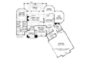 Ranch Style House Plan - 2 Beds 2 Baths 1822 Sq/Ft Plan #929-995 Floor Plan - Main Floor Plan