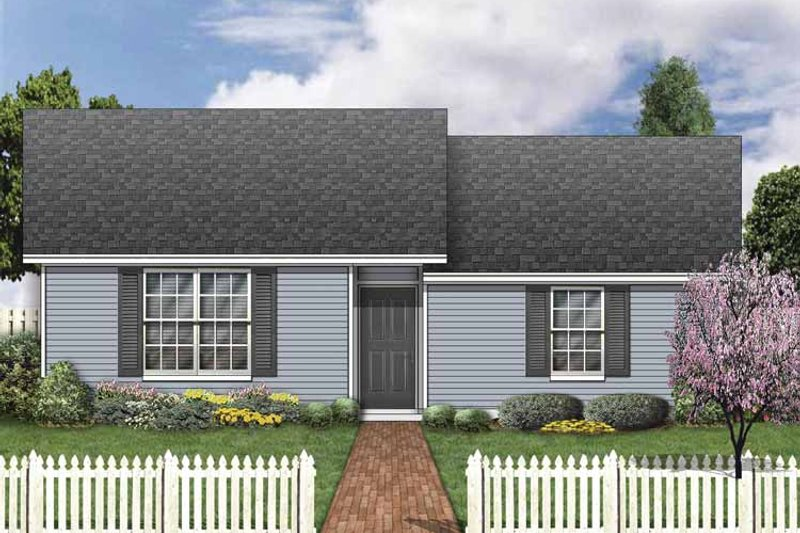 House Plan Design - Classical Exterior - Front Elevation Plan #84-772