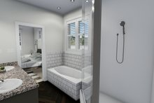 Dream House Plan - Ranch Interior - Master Bathroom Plan #1060-12