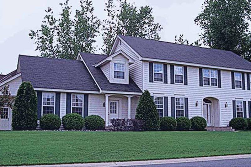 Dream House Plan - Classical Exterior - Front Elevation Plan #51-719